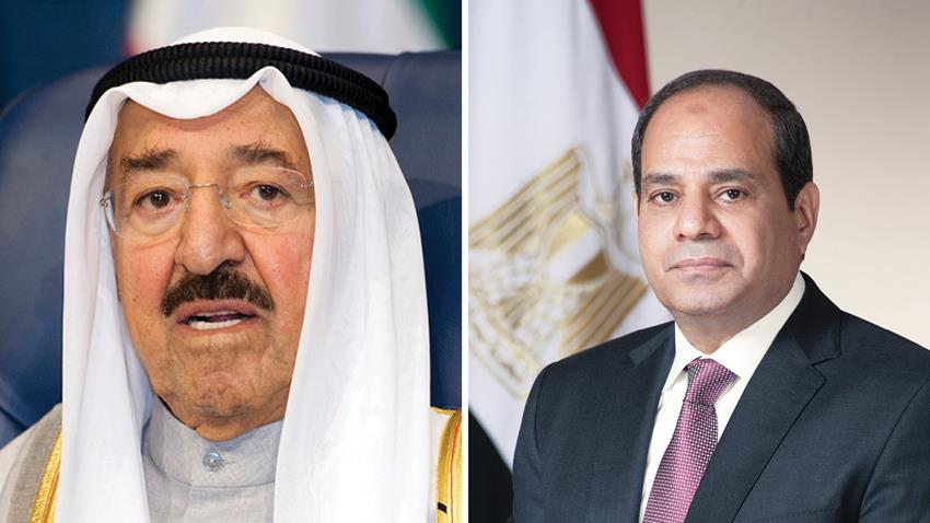 President El-Sisi Mourns the Passing of HH the Amir of Kuwait