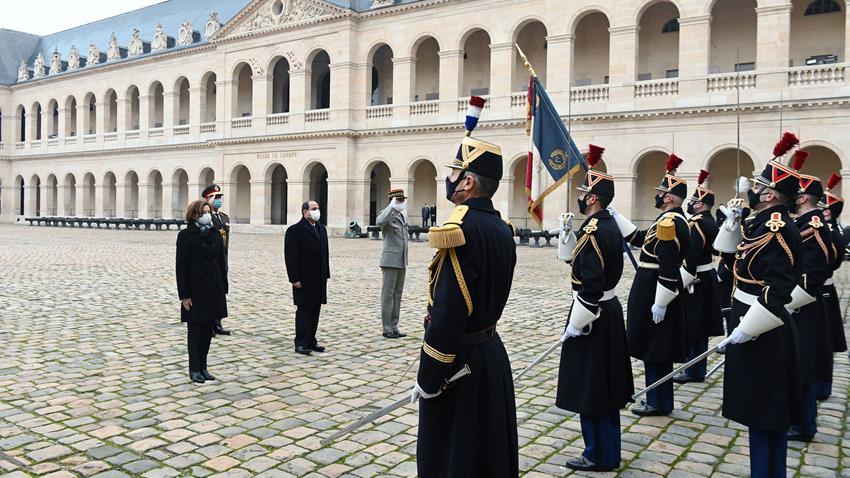 الرئيس عبد الفتاح السيسي يلتقي وزيرة الدفاع الفرنسية