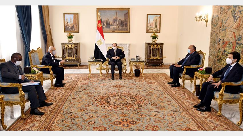 President El-Sisi Receives Malian Foreign Minister